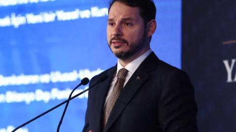 Hazine ve Maliye Bakanı Berat Albayrak'tan açıklama
