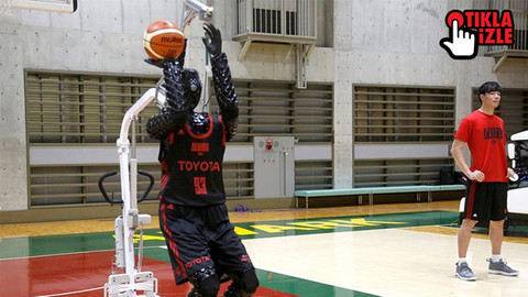 Toyota basketbolcu robot üretti!