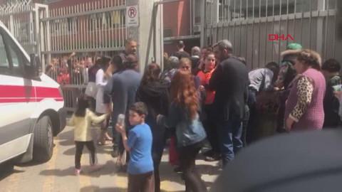 Güngören'de bir okulda deney sırasında patlama meydana geldi
