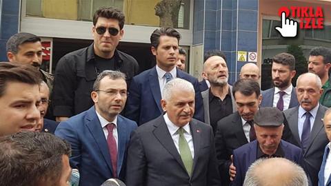 AK Parti'li Başkan Binali Yıldırım'ı İBB Başkanı ilan etti