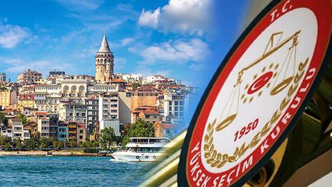 YSK İstanbul'u pazartesi günü görüşecek