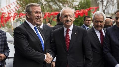 Kılıçdaroğlu, Mansur Yavaş'a ziyaret etti