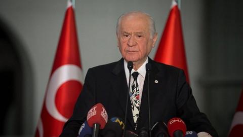 Devlet Bahçeli'den Cumhur İttifakı açıklaması
