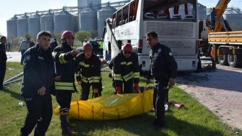 Konya'da kaza: 1 ölü 24 yaralı