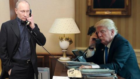 Putin ile Trump telefonda görüştü
