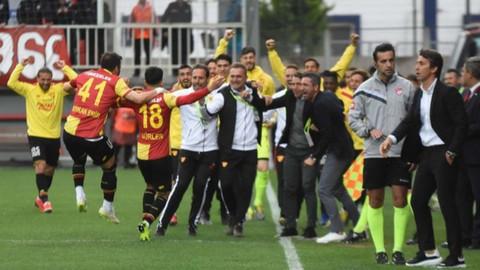 Göztepe, Antalyaspor maçından kritik 3 puan aldı