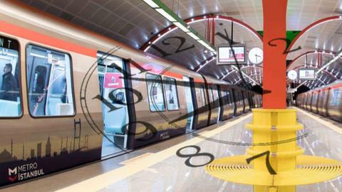 İstanbul'da metro sefer saatlerine Ramazan ayarı