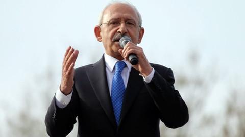 Kılıçdaroğlu: Erdoğan'ı iptal noktasına taşıyan, İstanbul'un rantını yiyen çevresi