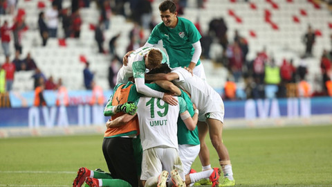 Antalyaspor 0-1 Bursaspor