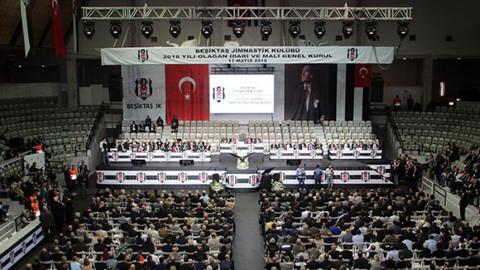 Beşiktaş'ta gerçekleşen Seçimli Olağan Genel Kurul başladı