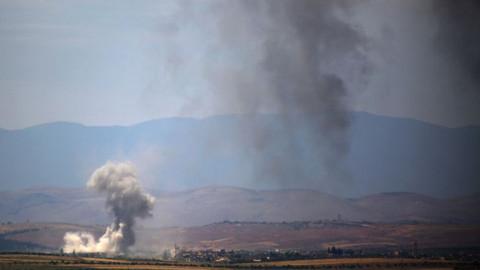Esad güçleri İdlib'de TSK gözlem noktasının yakınını vurdu