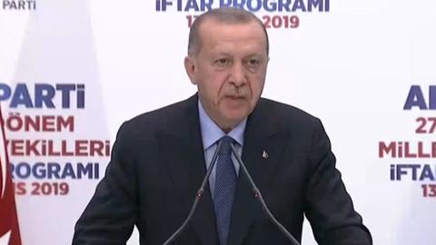 Cumhurbaşkanı Erdoğan: Cevabı çok basit çünkü oyları çaldılar