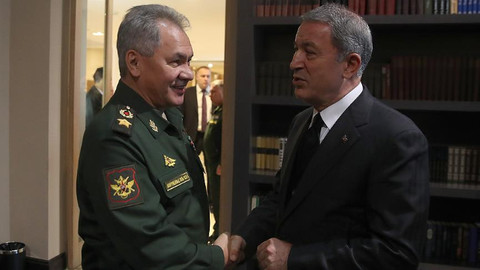 Bakan Akar, Rus mevkidaşı ile görüştü