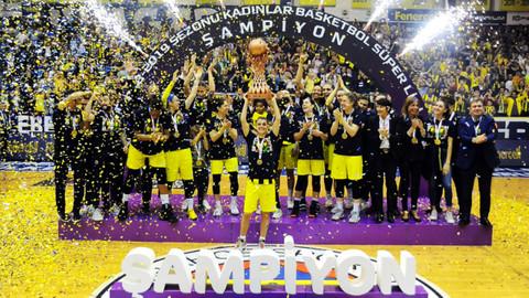 Fenerbahçe, 14. kez şampiyon oldu!