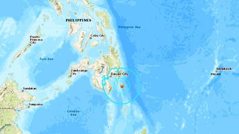 Filipinler'de 6.1 büyüklüğünde deprem