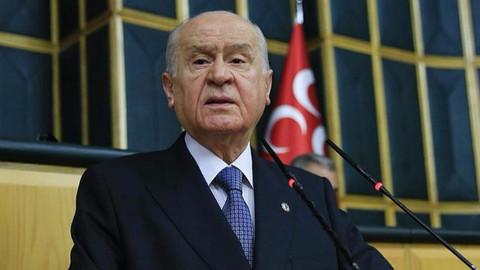 MHP lideri Bahçeli'den bayram mesajı!