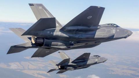 F-35'in düşüş nedeni belli oldu