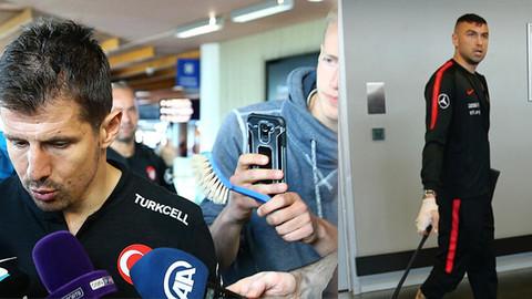 Milli Takım İzlanda'da 3 saat bekletildi