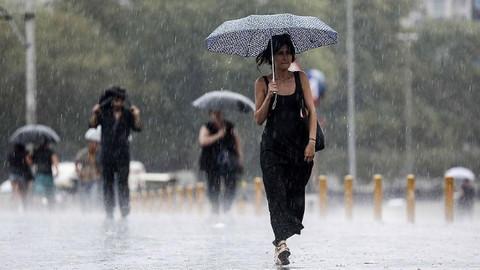 Meteoroloji'den uyarı! Kuvvetli yağış geliyor