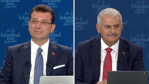 Ortak yayın sonrası adaylardan ilk açıklama