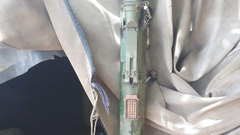 Pençe Harekatı'nda SA-14 Tipi Füze ele geçirildi