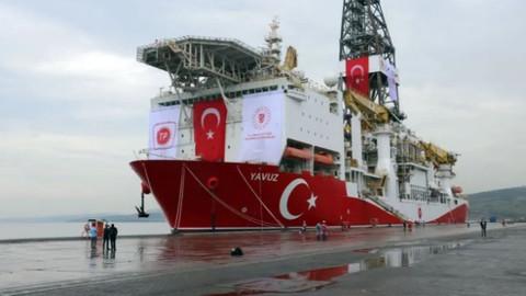 Sondaj gemisi Yavuz yola çıktı