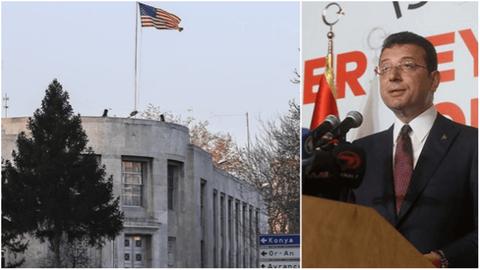 ABD Büyükelçiliği İmamoğlu'nu kutladı: Katılımcı demokrasinin etkileyici bir örneğini