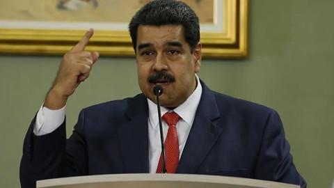 Maduro darbecileri finanse eden iki ülkeyi açıkladı