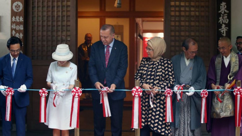 Cumhurbaşkanı Erdoğan açılışını yaptı! Japonya'da Ara Güler sergisi