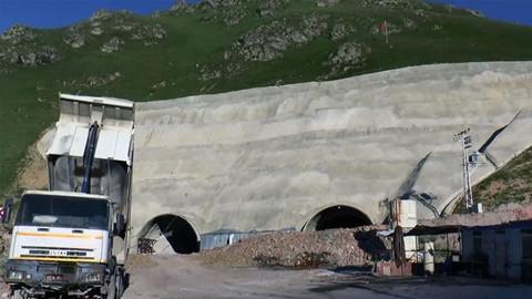 Türkiye'nin en uzun 3. tüneli olacak