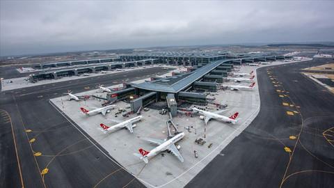 İstanbul havalimanları, 6 ayda 48 milyon yolcuyu ağırladı