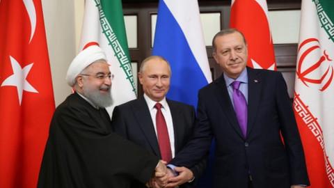 Ruhani, Putin ve Erdoğan İstanbul'da bir araya gelecek