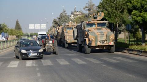 Suriye sınırına asker sevkıyatı yapıldı