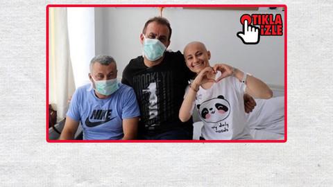 Haluk Levent lösemi hastası genç kızla düet yaptı!