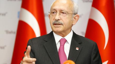 Kılıçdaroğlu: Türkiye'nin kendi hakkı ve hukukudur