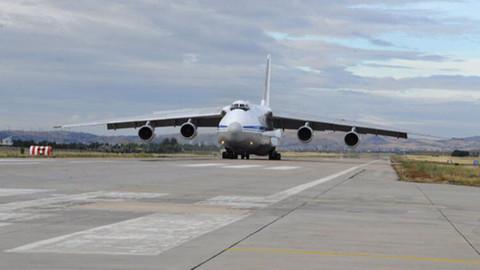 S-400 teslimatında ikinci gün! Rus uçağı Ankara'ya indi