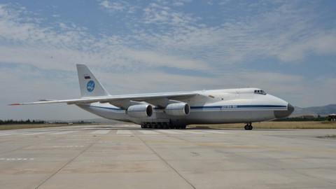 S-400'leri taşıyan dokuzuncu uçak da iniş yaptı