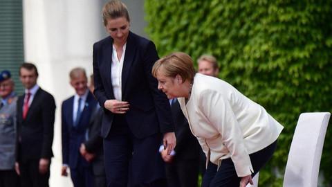 Merkel sağlık durumu hakkında açıklamalarda bulundu