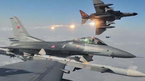 Kuzey Irak'a hava harekatı: 3 terörist etkisiz hale getirildi