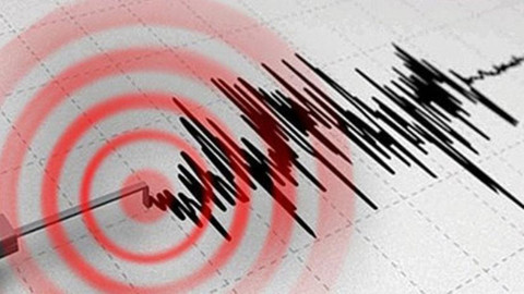 Ege Denizi'nde 4,6 büyüklüğünde deprem meydana geldi