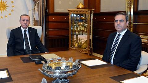 Cumhurbaşkanı Erdoğan, Hakan Fidan'ı kabul etti!