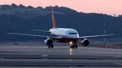 Bu sabah vize alınmadan ilk uçuş yapıldı