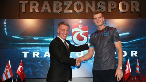 Trabzonspor'un yeni forveti iddialı konuştu