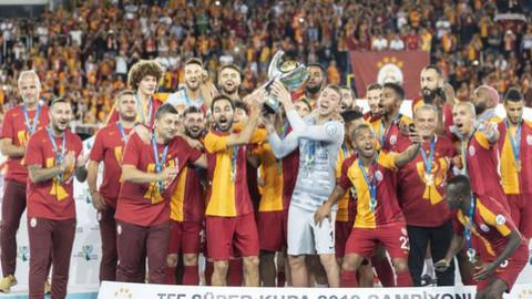 TFF Süper Kupası Galatasaray'ın!