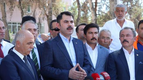 Çevre ve Şehircilik Bakanı Murat Kurum'dan Denizli açıklaması