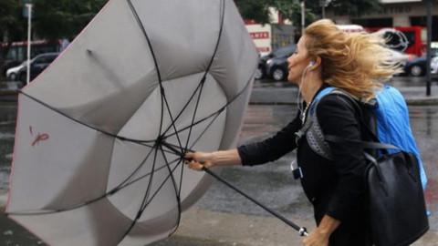Meteoroloji rüzgar uyarısı yaptı