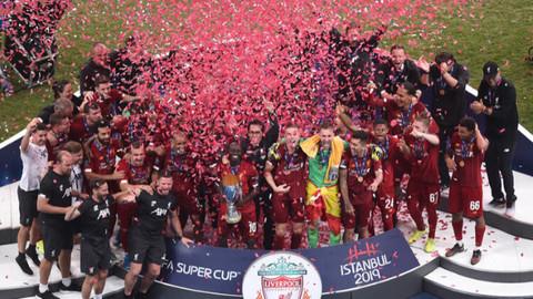 UEFA Süper Kupa Liverpool'un!