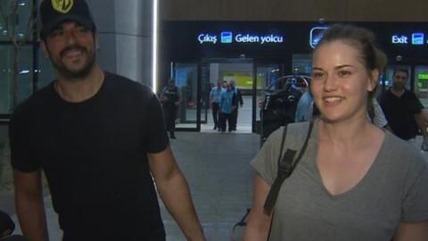 Özçivit'ten eşine destek: Aşkım artıyor