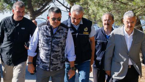 Bakan Pakdemirli: İzmir'deki yangın kontrol altına alındı