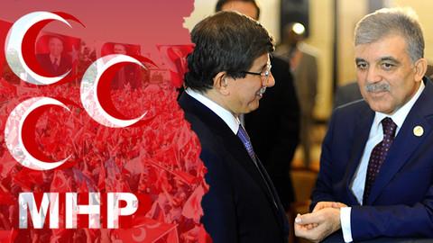 MHP'den Gül ve Davutoğlu'na 'kayyum' tepkisi!